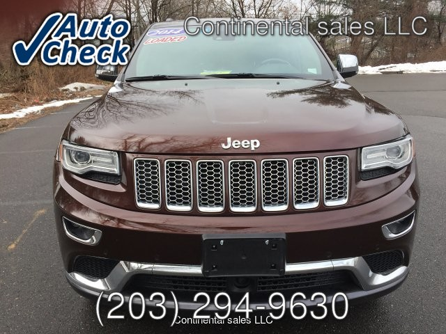 2014 Jeep Grand Cherokee Summit 4WD 5-Speed Automatic