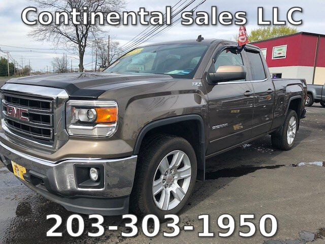2014 GMC Sierra 1500 SLE Ext. Cab 4WD 6-Speed Automatic
