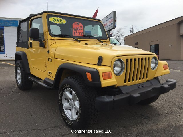 2005 Jeep Wrangler X 4-Speed Automatic