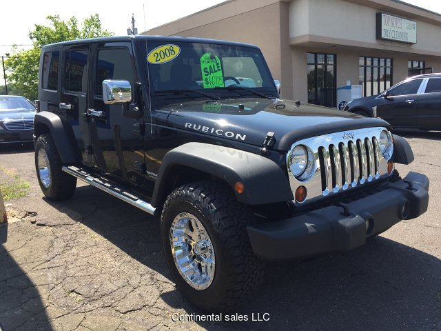 2008 Jeep Wrangler Unlimited Rubicon 4-Speed Automatic RWD W