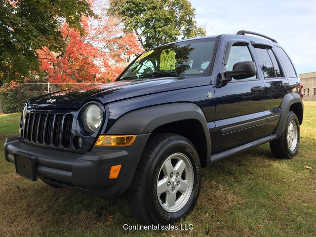 2007 Jeep Liberty Sport 4WD 5-Speed Automatic