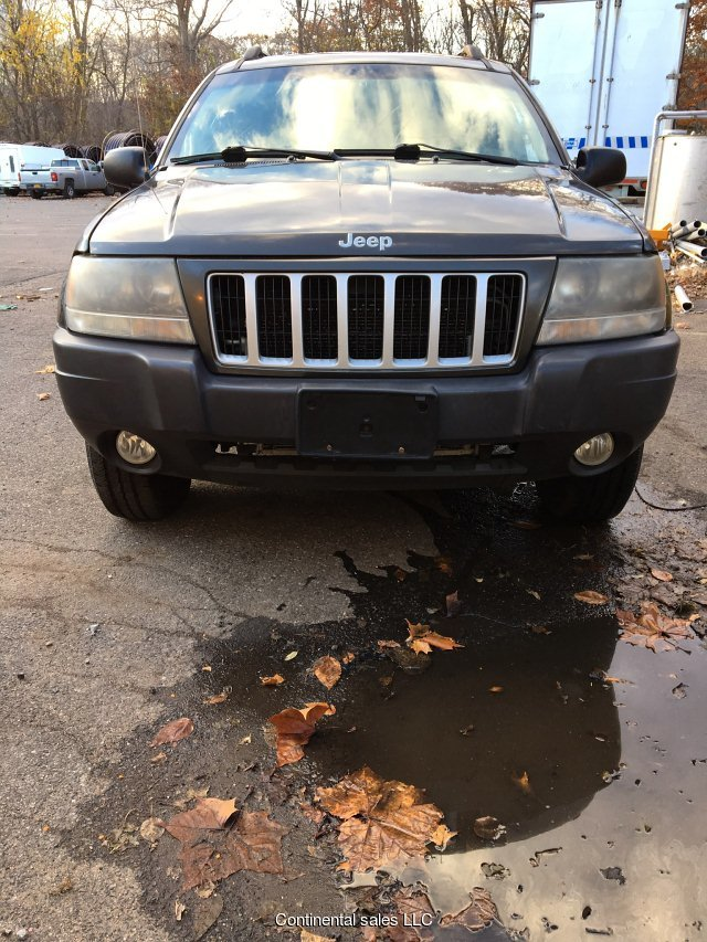 2004 Jeep Grand Cherokee Laredo 4WD 4-Speed Automatic