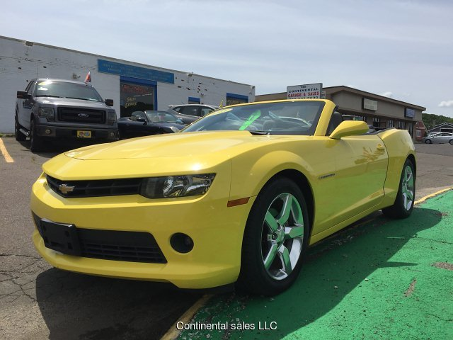 2015 Chevrolet Camaro 1LT Convertible 6-Speed Automatic
