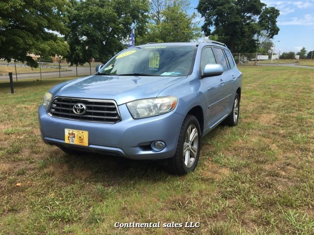 2008 Toyota Highlander Sport 4WD 5-Speed Automatic