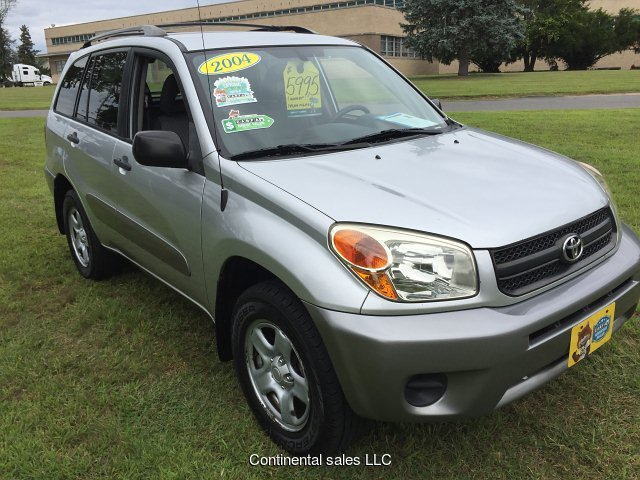 2004 Toyota RAV4 4WD 4-Speed Automatic
