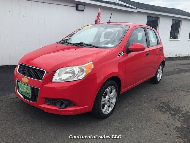 2010 Chevrolet Aveo LS 4-Speed Automatic