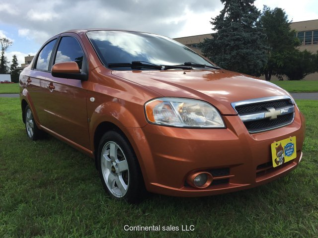 2007 Chevrolet Aveo LT 4-Door 4-Speed Automatic